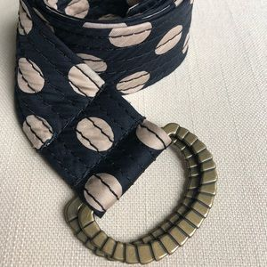JCrew Silk Belt